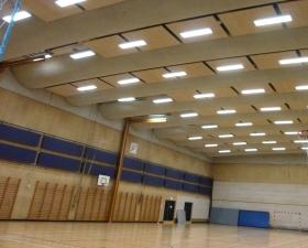 Skovparkhallen fik en LED-Makeover