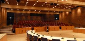Høje- Taastrup Byrådssal fik en LED-Makeover
